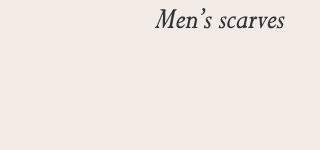 Men's scarves